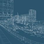 Hamburg Scribble - HafenCity