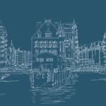 Hamburg Scribble - Fleetschlösschen