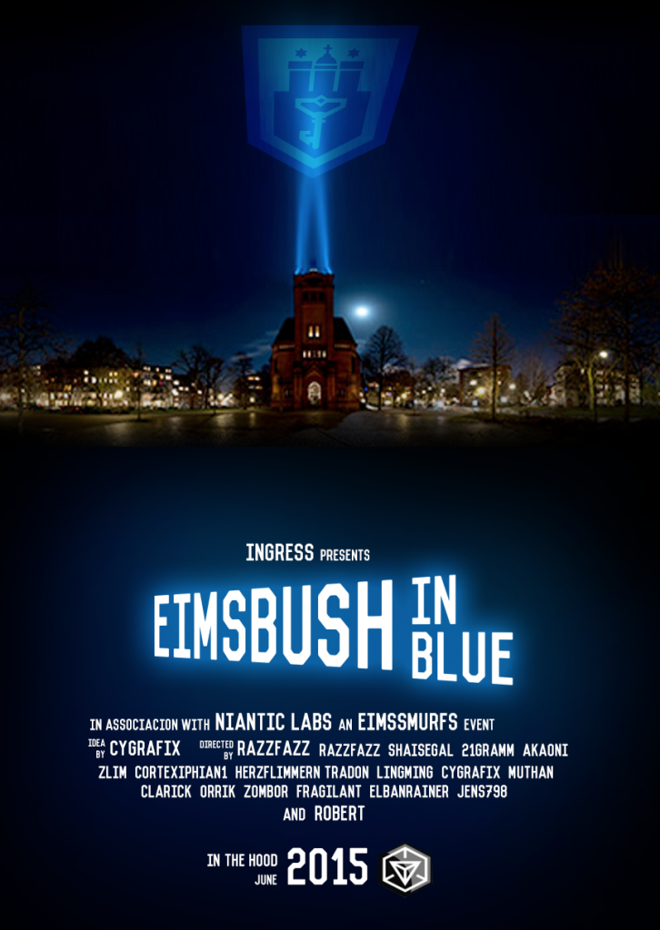 Eimsbush in blue